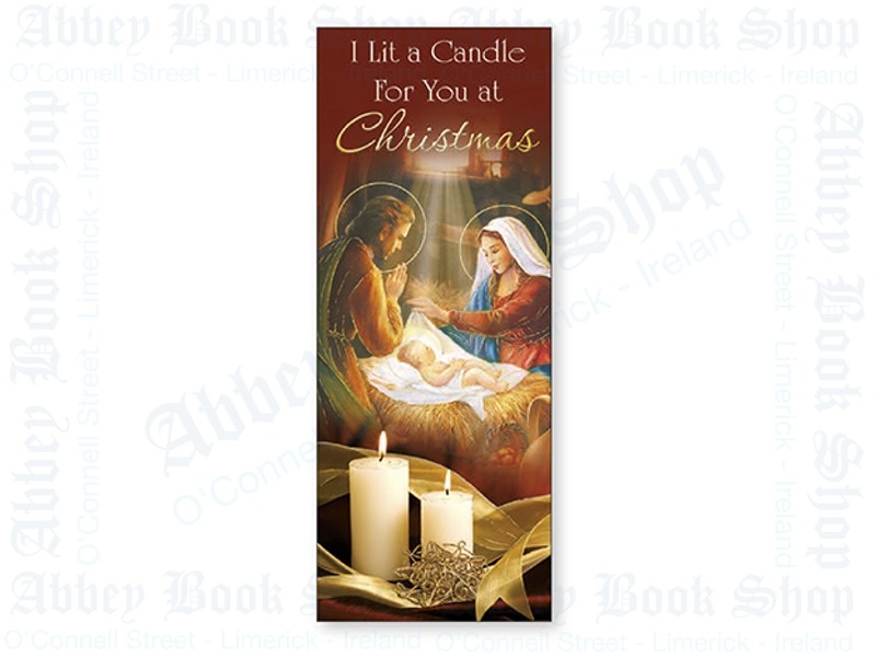 Christmas Card – I Lit A Candle