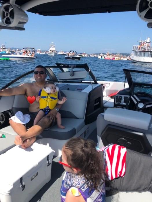 Malibu Boats family at seafair