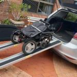 telescopic ramps for wheelchairs