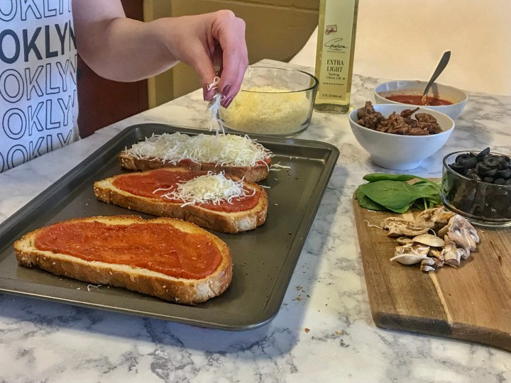 THE SECRET TO THE BEST ITALIAN LOAF PIZZA