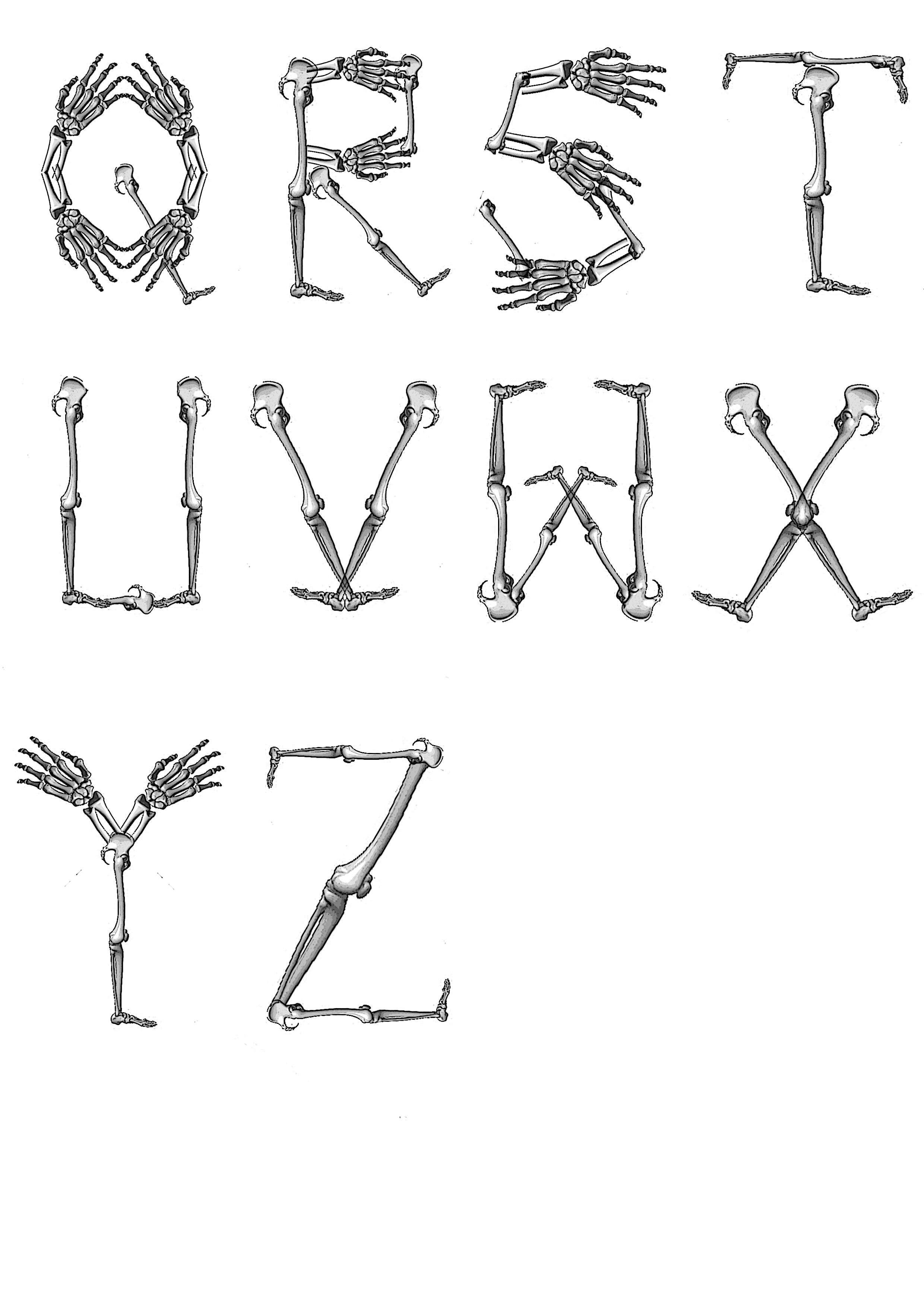 Halloween Printable Alphabet Letters