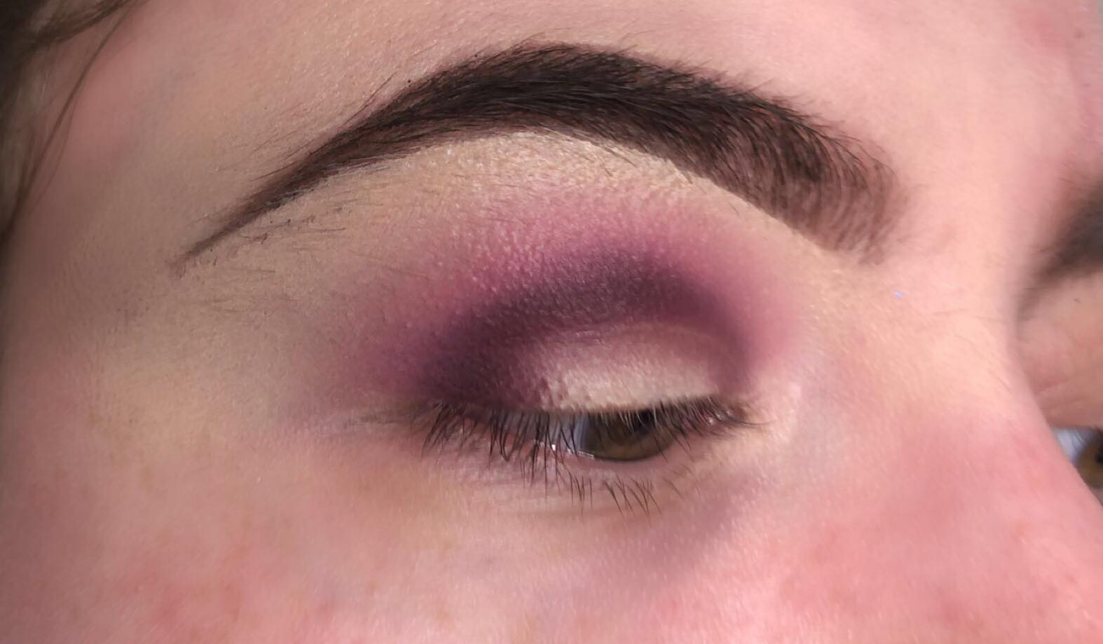 Sparkly Cut Crease Makeup Tutorial - Step 3 - Lightly Buff the Edges