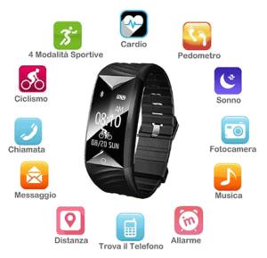 miglior smartwatch cinese Fitness Tracker Willful