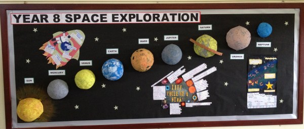 display of the week | Learning and Teaching at Abbot Beyne