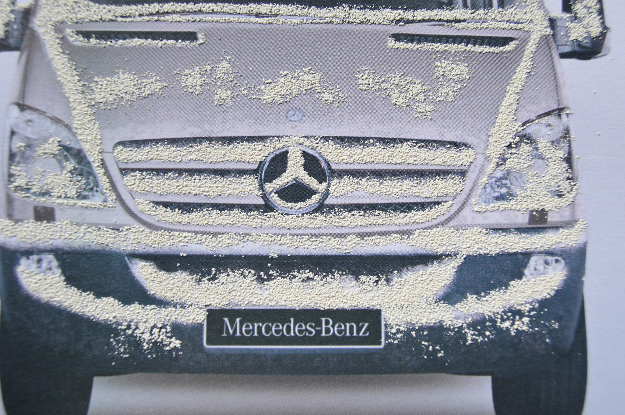 snow raise Mercedes