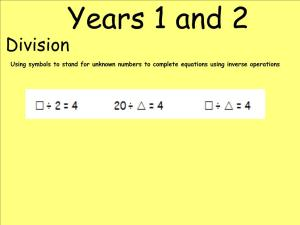 Abbots Langley School Maths Sessions for Parents - Nursery, Reception and KS1_42