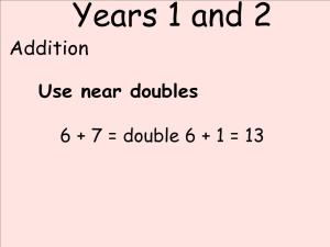 Abbots Langley School Maths Sessions for Parents - Nursery, Reception and KS1_5