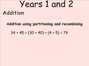 Abbots Langley School Maths Sessions for Parents - Nursery, Reception and KS1_6