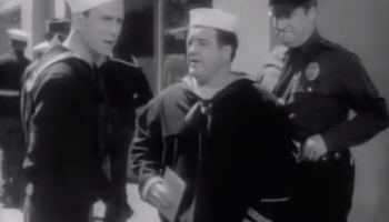 In the Navy - Bud Abbott, Lou Costello, police officer