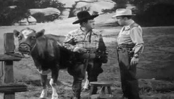 Milking a Cow - Lou Costello, Bud Abbott