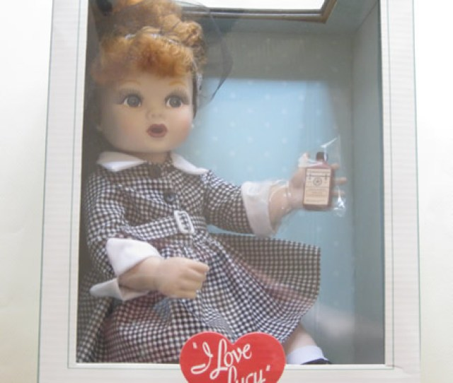 I Love Lucy Premier Vinyl Baby Lucy Doll