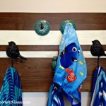 DIY Towel or Coat Rack