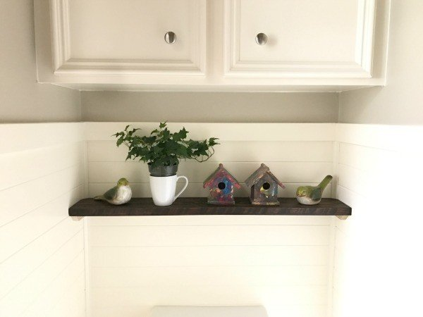 5 steps to our Powder Room Makeover