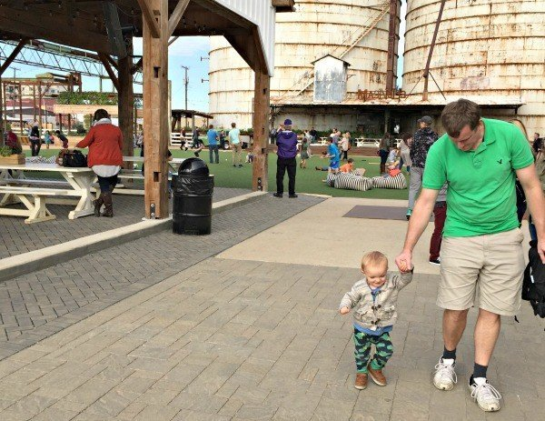 What to do on your visit to Magnolia Silos - Courtyard