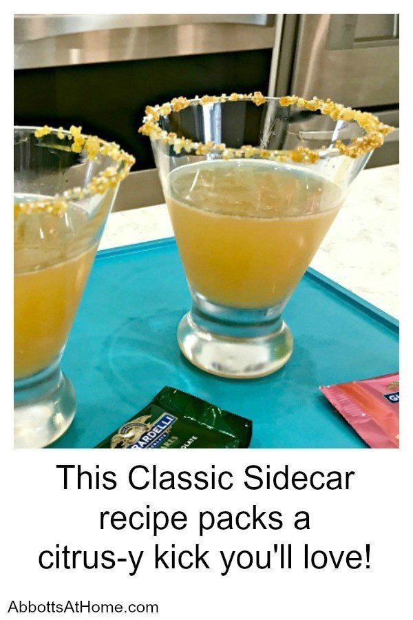 This Classic Sidecar Recipe packs a citrus-y kick you'll love