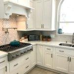 White Kitchen Update – Starmark Kitchen Cabinets & Lusso Quartz