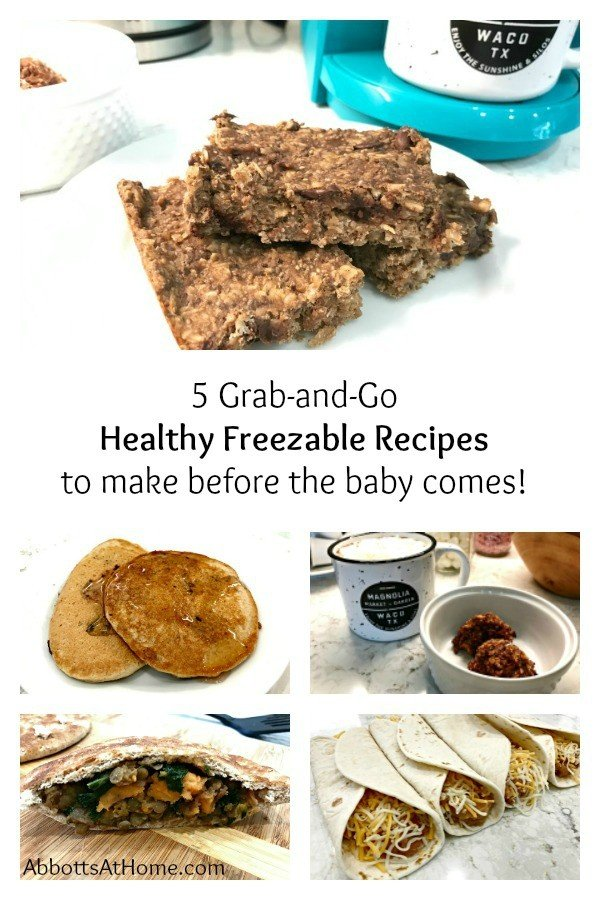 5 Grab-and-Go Healthy Freezable Recipes before the baby comes.