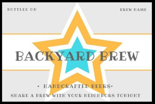 Free beer bottle labels for home brewers. Grab the free homebrew labels now. And check out the cool Home Brewing Themed Wall Art Printables available to purchase and download. Free printables for homebrew beer labels, plus beer wall art available for purchase. Perfect for the man cave, game room, or anywhere beer lovers hangout.