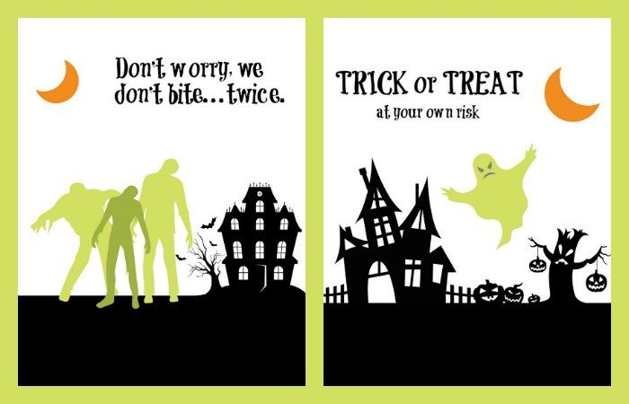 Just a little Spooky Halloween Printables!