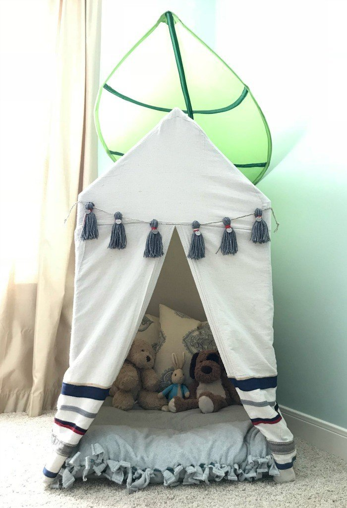 Build this Fun and Easy Kids PVC Pipe Tent! - Abbotts At Home