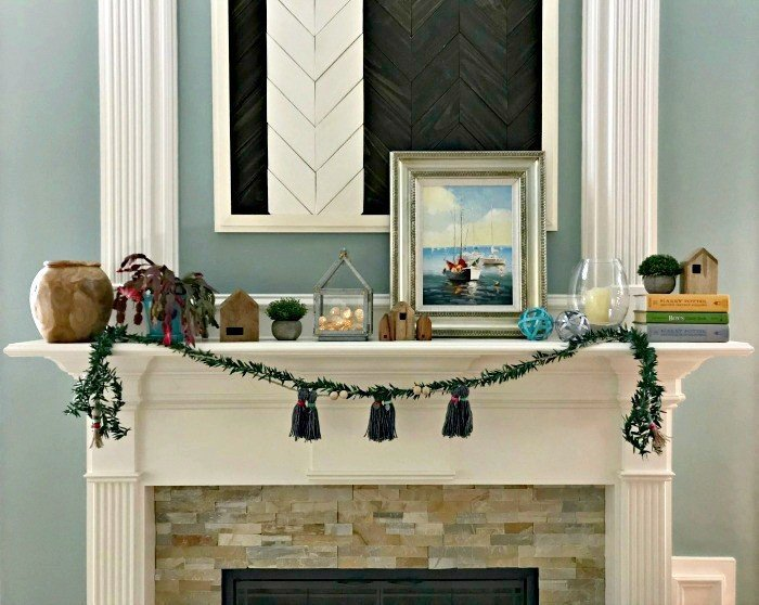 Warm and Cozy Winter Mantel Decor Ideas for 2018 - Abbotts At Home