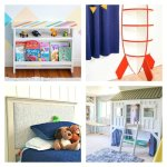 20 Fun DIY Kids Room Ideas and Tutorials. Kids Bedroom and Play Room DIY's and Crafts for boys and girls.