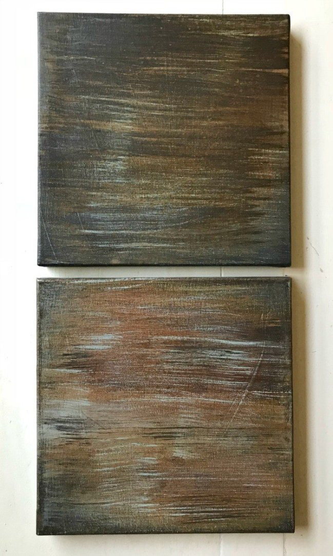 Over 20 different Patina Paint Faux Metal Finish examples with info on how to DIY them. Great guide for picking the look you want before buying. How to Patina Paint with Copper, Bronze, and Iron paints using blue and green patinas. Testing done with Dixie Belle Patina Paints.