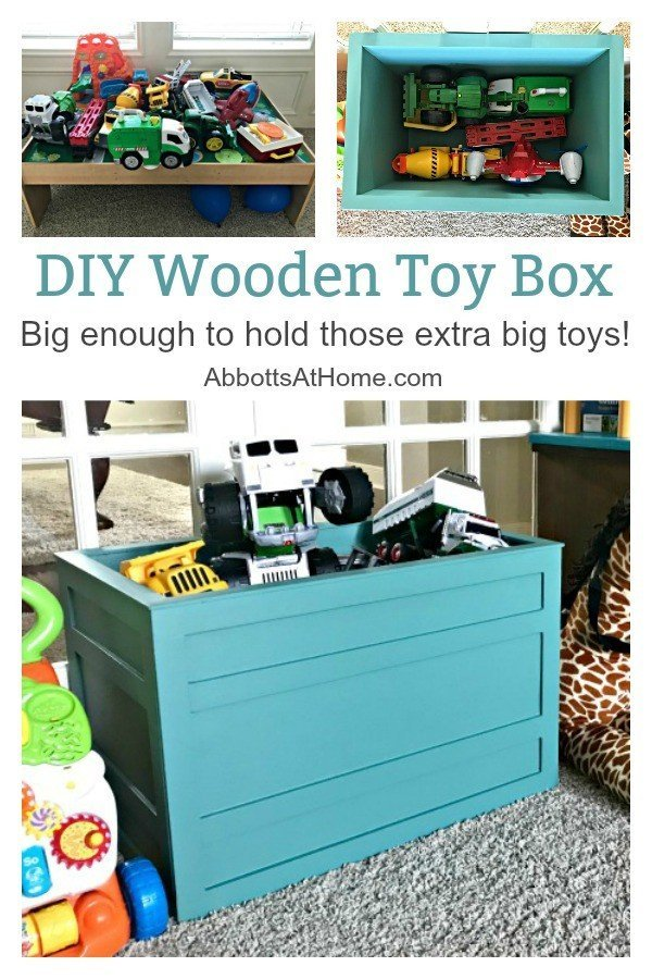 Diy Wooden Toy Storage Crate Or Box Abbotts At Home