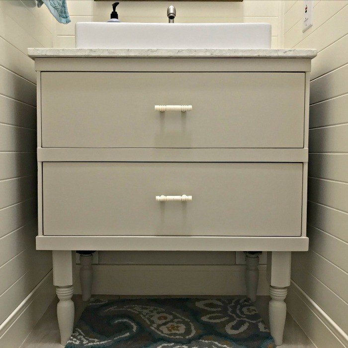 How to Cut and Modify Vanity Drawers for Plumbing