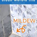 How To Clean Marble Shower Tile Kill Mildew Seal Abbotts At Home