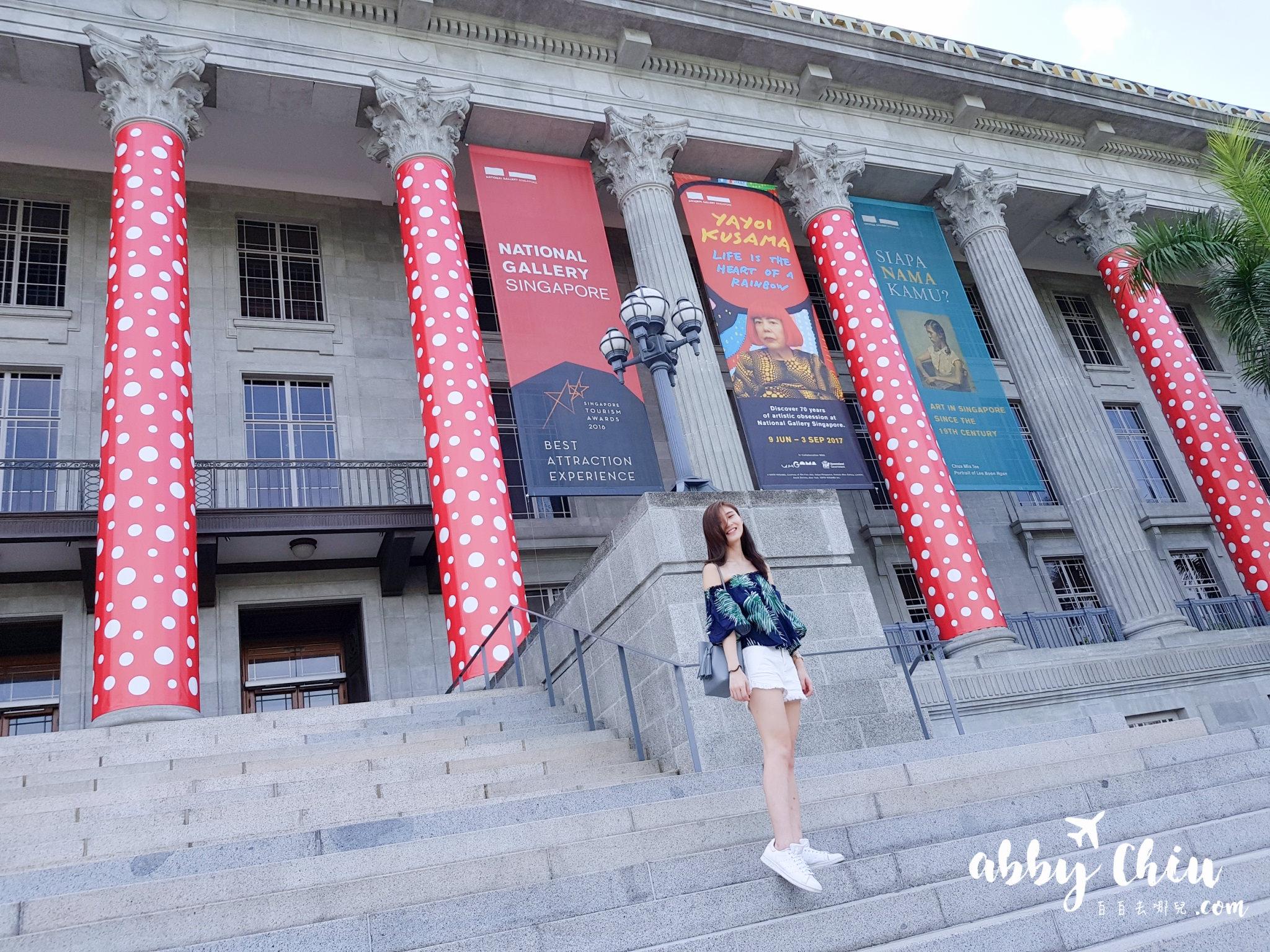 新加坡景點 | 國家美術館 草間彌生展覽 Life Is The Heart Of A Rainbow ♥ National Gallery Singapore Yayoi Kusama exhibition ...