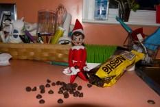 Mercredi matin, elle mange mes pépites de chocolat