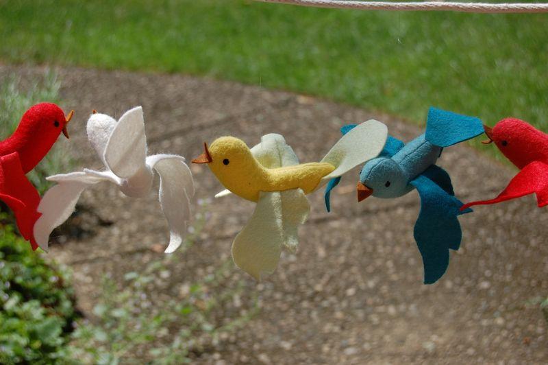 Short string of birds
