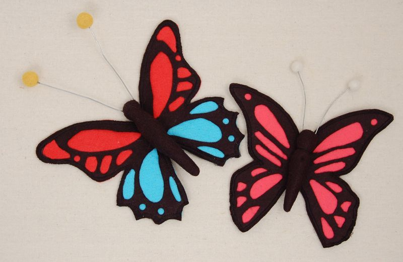 Cutwork felt butterfly 2