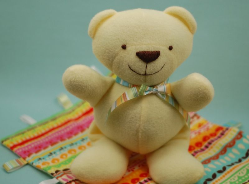 Yellow Teddy Bear