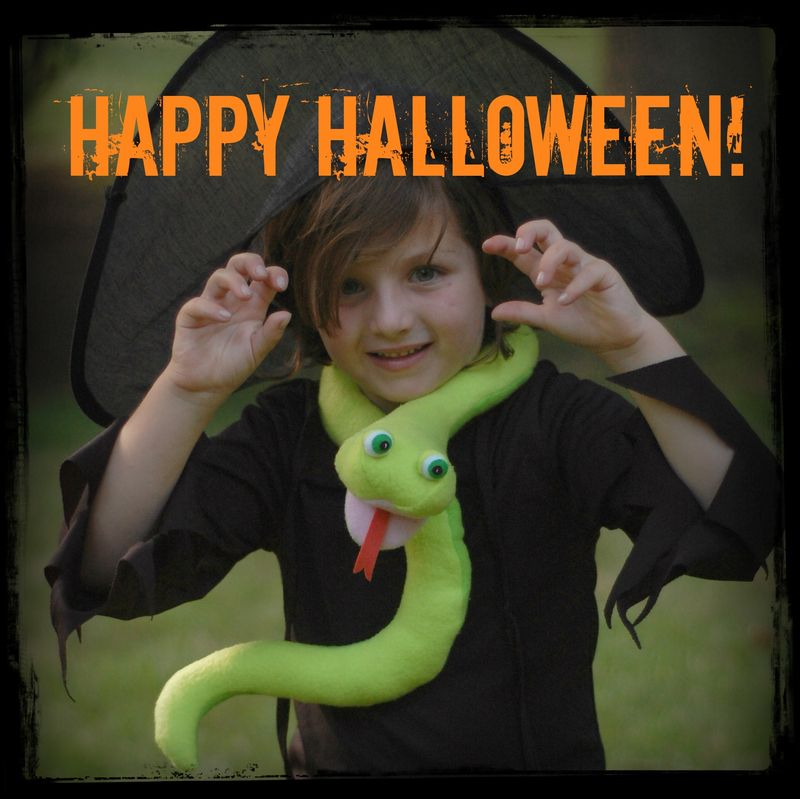Halloween Snakes Cover 2