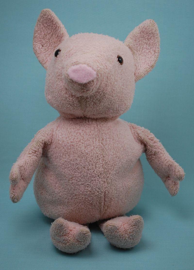 Fixed pig stuffed animal