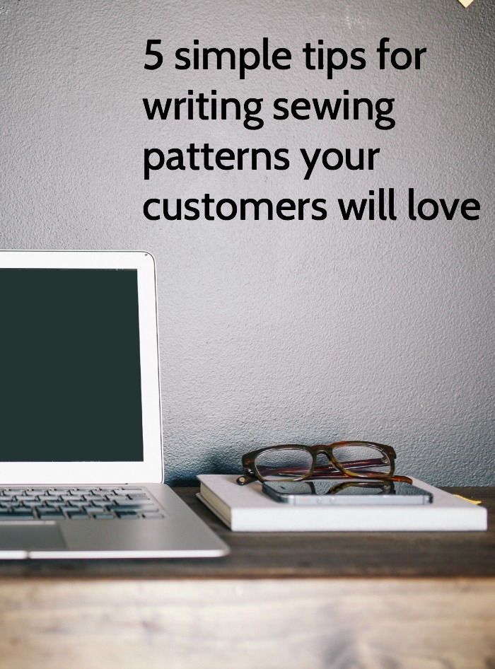 pattern writing tips