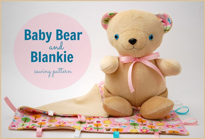 New Baby Bear and Blankie Cover
