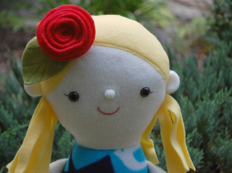 Emma the Doll with Rose