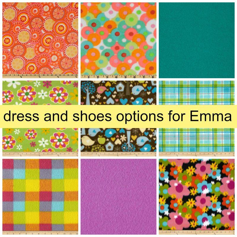 Emma's Dress Options