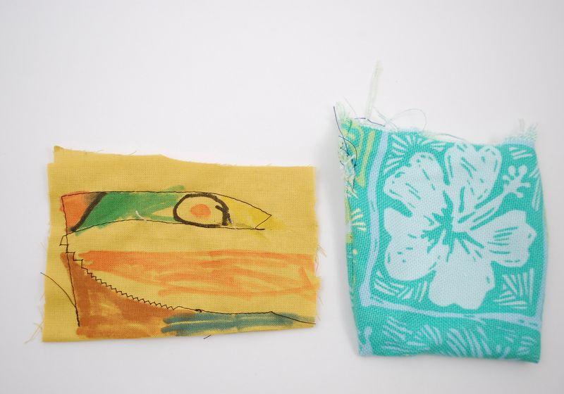 Stitch sampler and bag