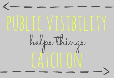 Public visibility