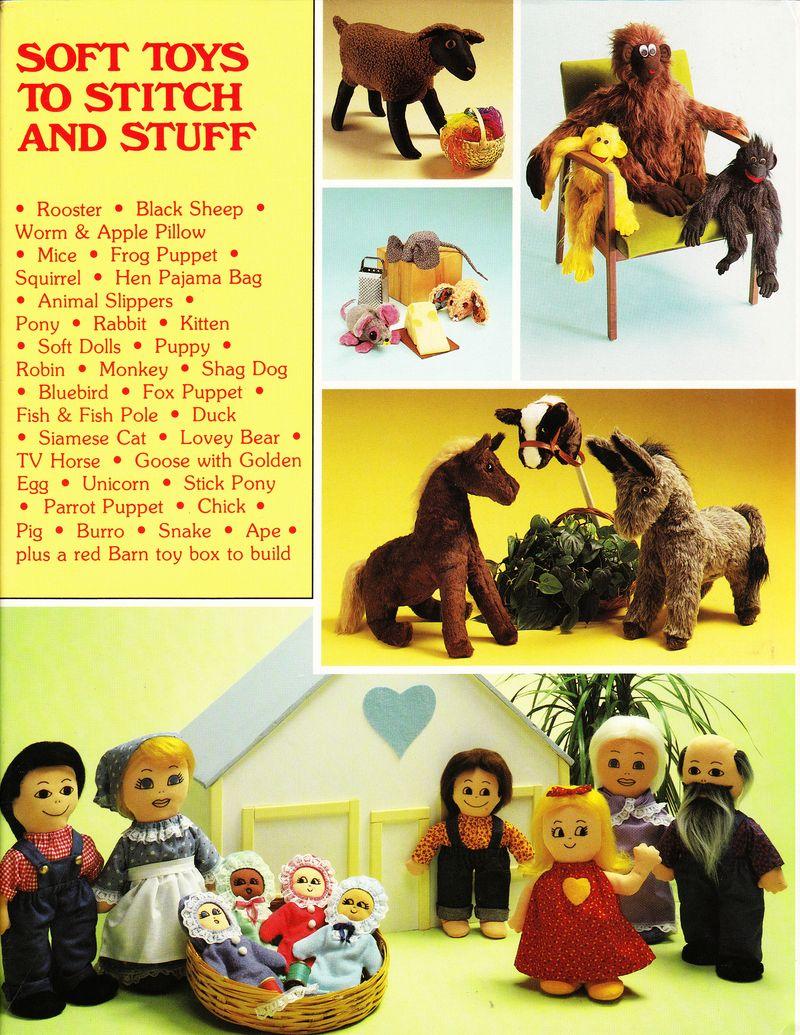 Soft Toys to Stitch and stuff