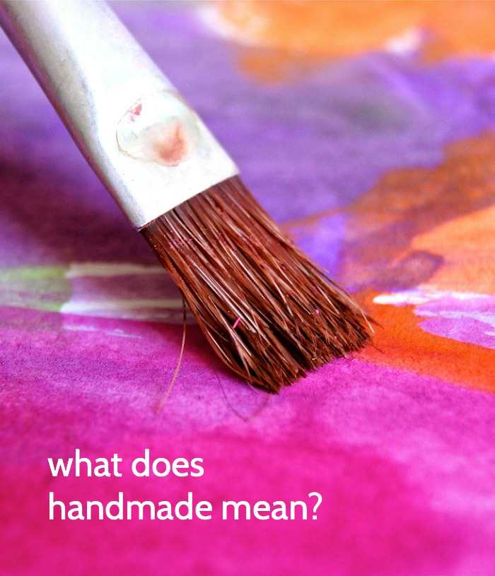 handmade mean