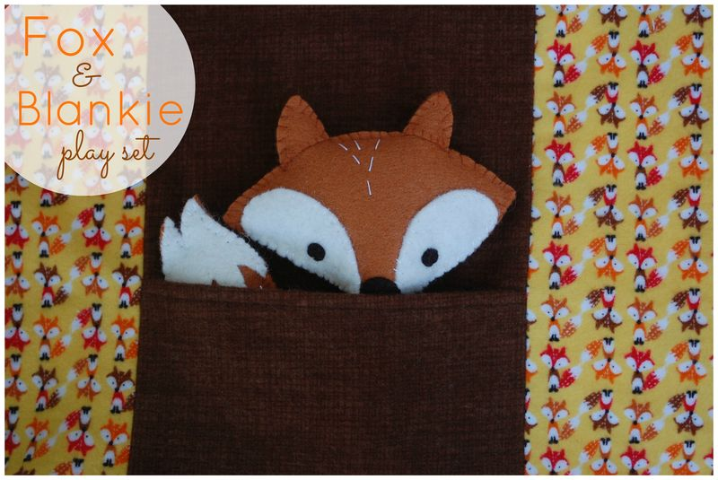 FOX AND BLANKIE PLAY SET