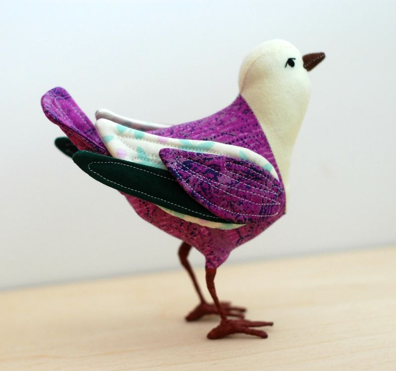 Fabric bird 3