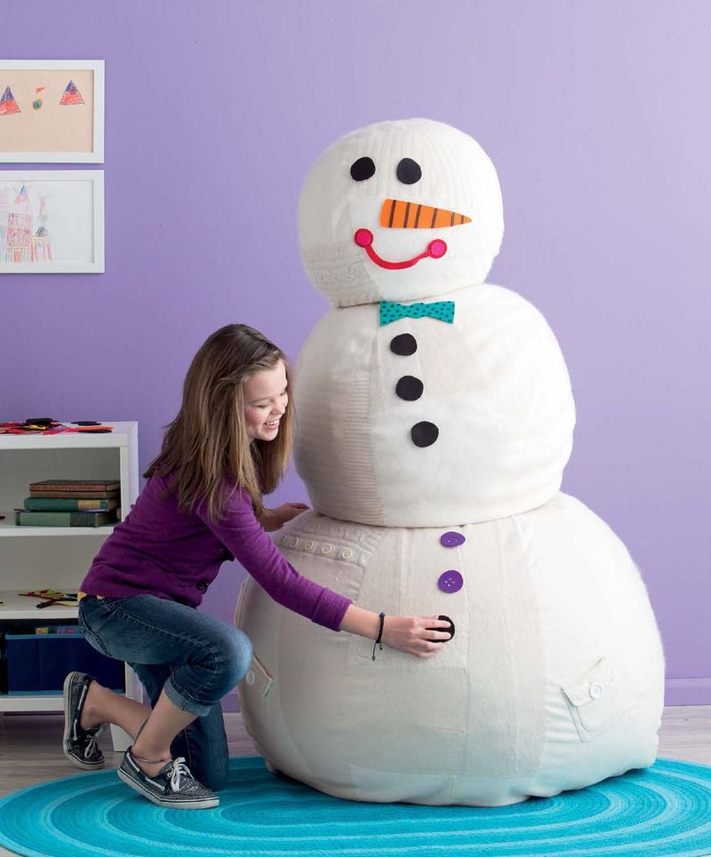 Sew Fun - Indoor Snowman beauty shot