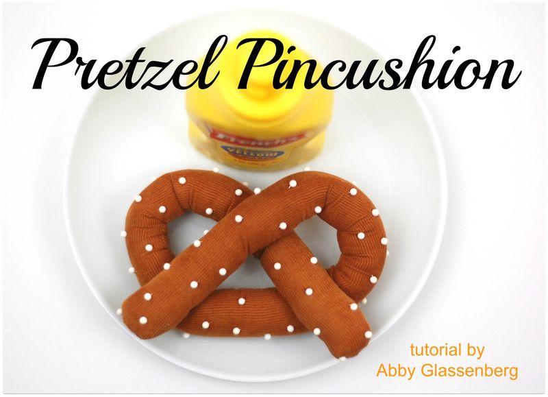 Pretzel Pincushion