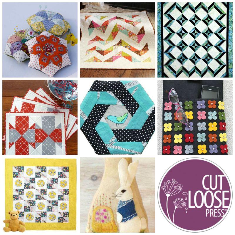 Cut Loose Press Collage